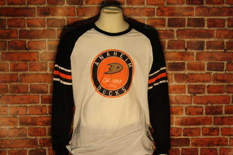 Anaheim Ducks Ballpark Men's Long Sleeve Shirt