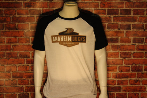 Anaheim Ducks Homer White/Black T-shirt