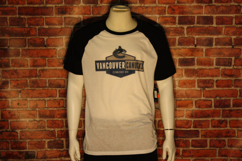 Vancouver Canucks Homer White/Black T-Shirts