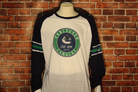Vancouver Canucks Ballpark Men's Long Sleeve Shirt