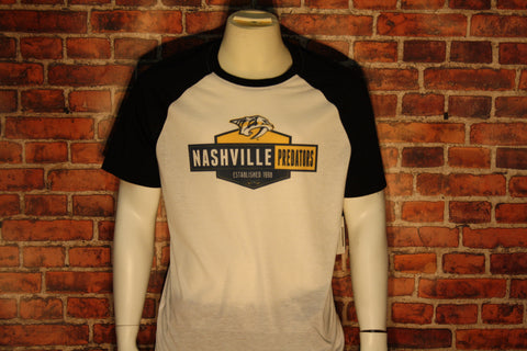 Nashville Predators White/Black Home T-Shirt