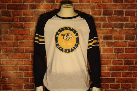Nashville Predators Ballpark Long Sleeve Shirt
