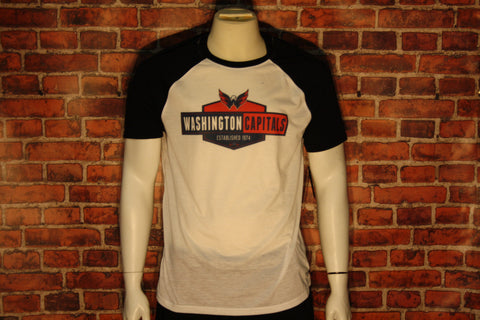 Washington Capitals White/Black Homer T-Shirt
