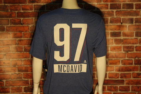 Edmonton Oilers Connor McDavid Richmond Icing T-Shirt