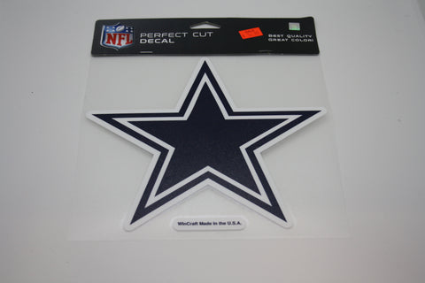 Dallas Cowboys 8x8 Decal