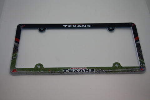 Houston Texans License Plate Frame