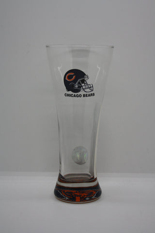 Chicago Bears Tall Glass