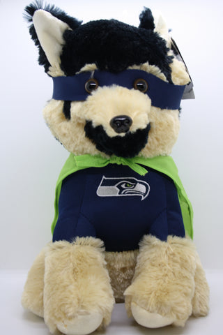 "Seattle Seahawks 14"" German Shephard Toy"