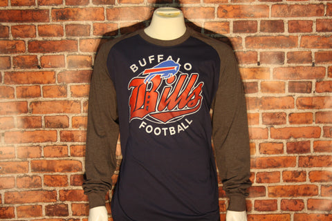 Buffalo Bills Mens Rounder Long Sleeve