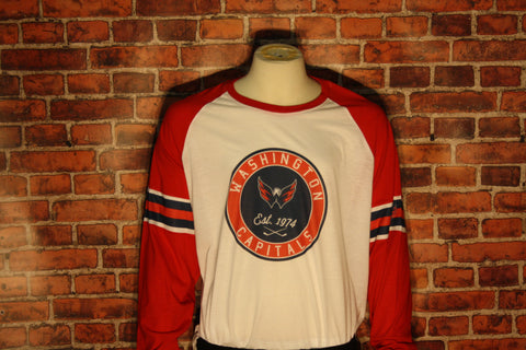 Washington Capitals Ballpark Men's Long Sleeve Shirt