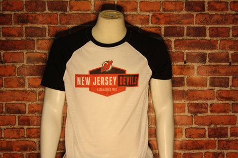 New Jersey Devils White/Black Homer T-Shirt