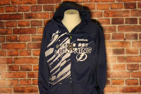 Tampa Bay Lightning Full Zip Blue Hood
