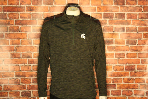 Michigan State Spartans 1/4 Zip Long Sleeve