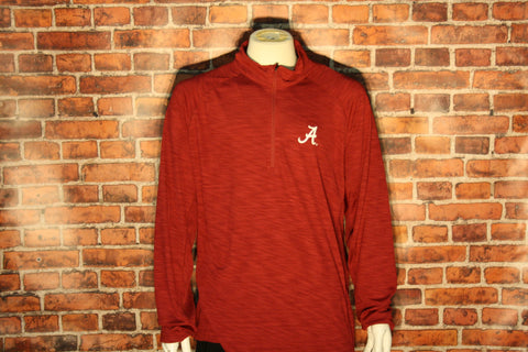 Alabama Crimson Tide 1/4 Zip Long Sleeve