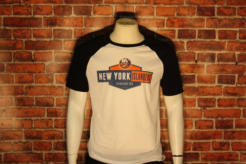 New York Islanders White/Black Homer T-Shirt