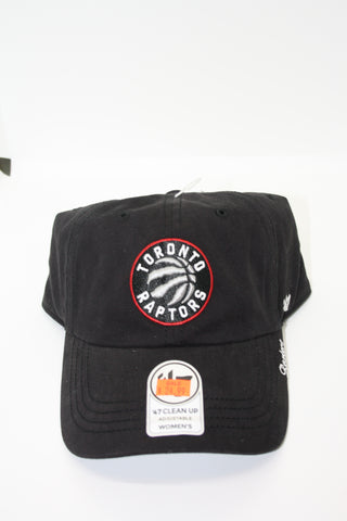 Toronto Raptors Womens Clean Up Cap