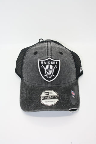 Oakland Raiders Washed Snapback