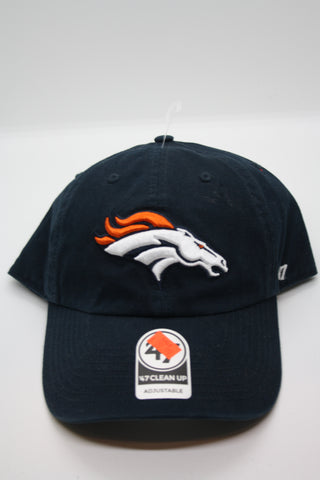 Denver Broncos Mens Clean Up Hat