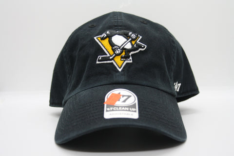 Pittsburgh Penguins Mens Clean Up Hat