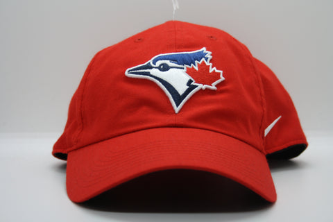 Toronto Blue Jays Red Nike No Structure Hat