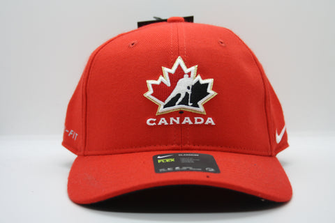 Red Team Canada Adjustable Full Back Hat