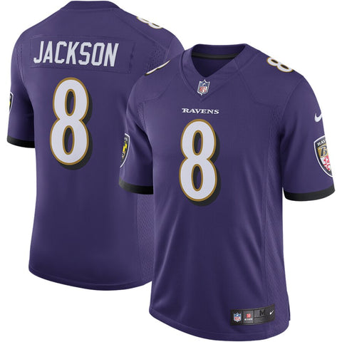 Lamar Jackson Baltimore Ravens Nike Speed Machine Limited Jersey - Purple