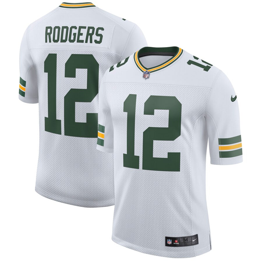 quality design 6f67a 52073 Aaron Rodgers Green Bay Packers Nike Classic Limited Player Jersey - White