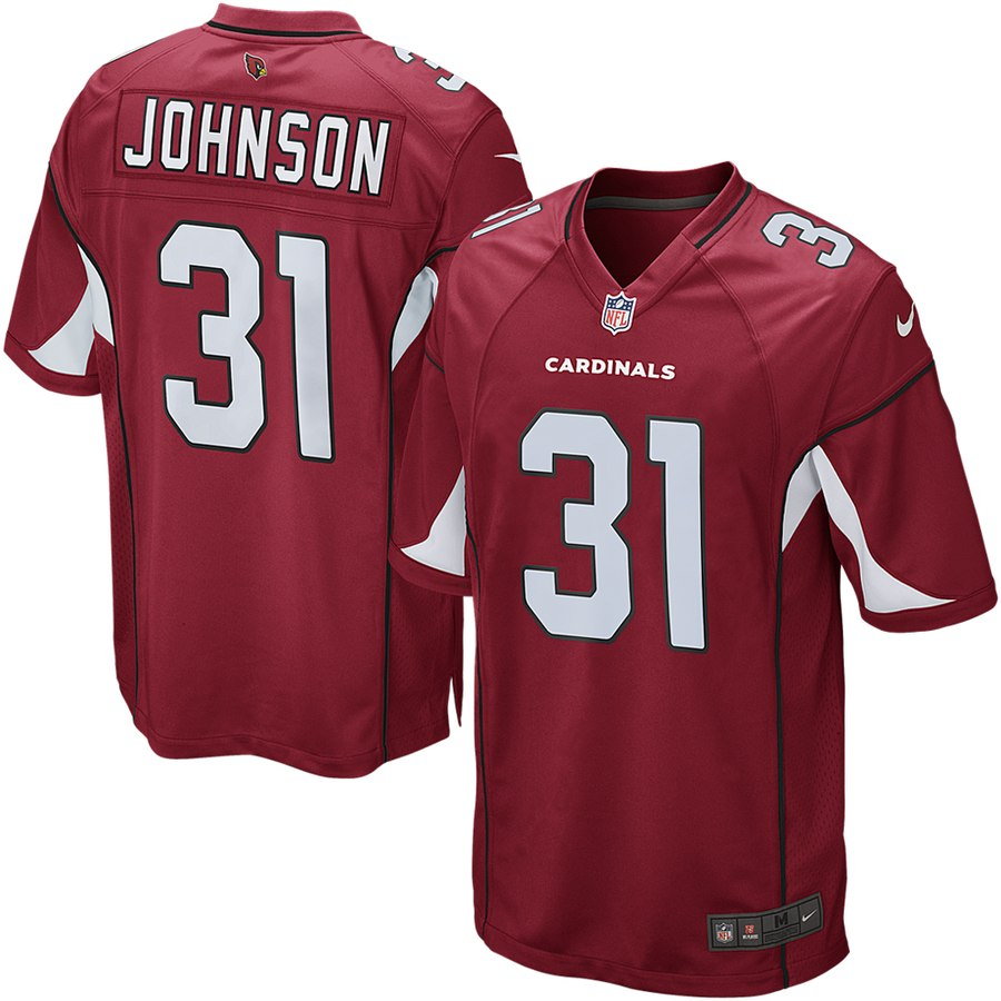 promo code 4c76e e2bb0 Arizona Cardinals David Johnson Nike Vapor Untouchable Limited Player  Jersey - Red