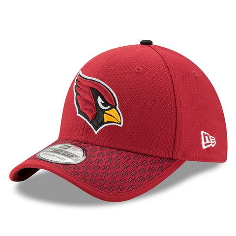 Men's Arizona Cardinals New Era Cardinal 2017 Sideline Official 39THIRTY Flex Hat