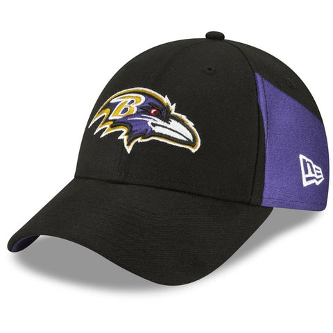 Baltimore Ravens New Era 2019 NFL Draft On-Stage Official 9FORTY Adjustable - Hat – Black