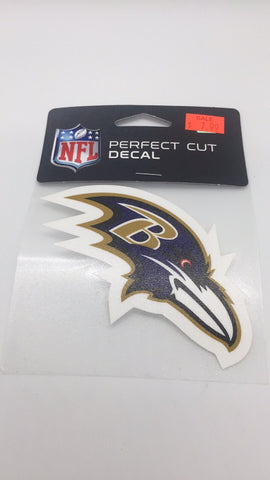 Baltimore Ravens 4x4 Decal