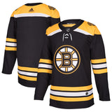 Boston Bruins adidas Black Home Authentic Blank Jersey