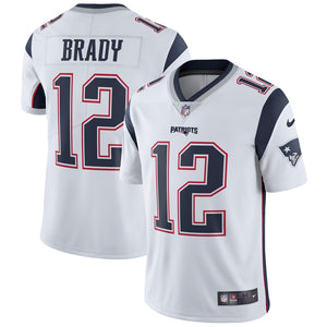 Tom Brady New England Patriots Nike Vapor Untouchable Limited Player Jersey - White