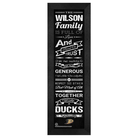 Anaheim Ducks Family Cheer
