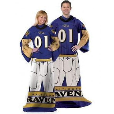 Baltimore Ravens Huddler Comfy Throw Blanket