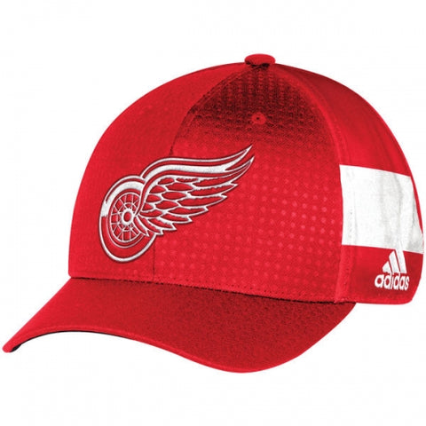 Detroit Red Wings Adidas 2017 NHL Youth Draft Structured Flex Cap