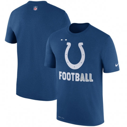 Indianapolis Colts Nike Sideline Legend Football Performance T-Shirt - Royal