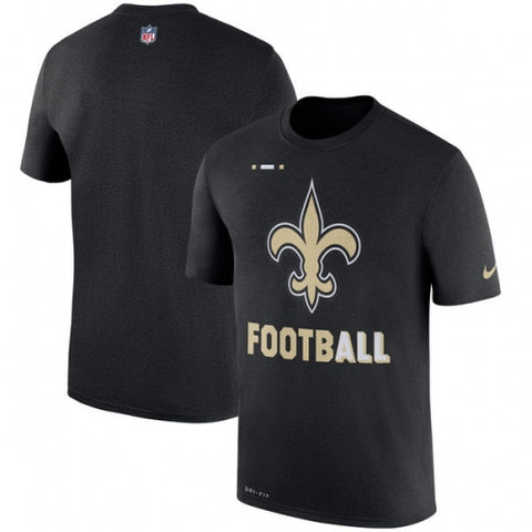 New Orleans Saints Football Performance T-Shirt