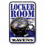 Baltimore Ravens Locker Room Sign