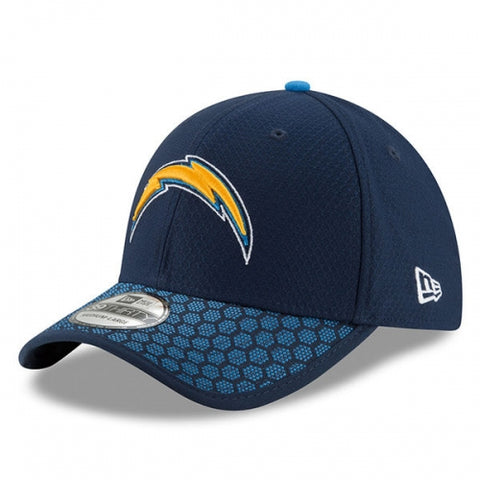 Los Angeles Chargers New Era 2017 Sideline Official 39THIRTY Flex Hat - Navy