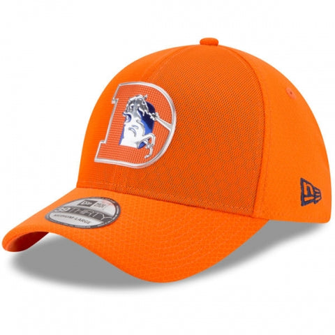 Denver Broncos New Era 2017 Color Rush 39THIRTY Flex Hat Orange