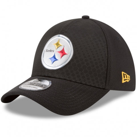 Pittsburgh Steelers New Era 2017 Color Rush 39THIRTY Flex Hat Black