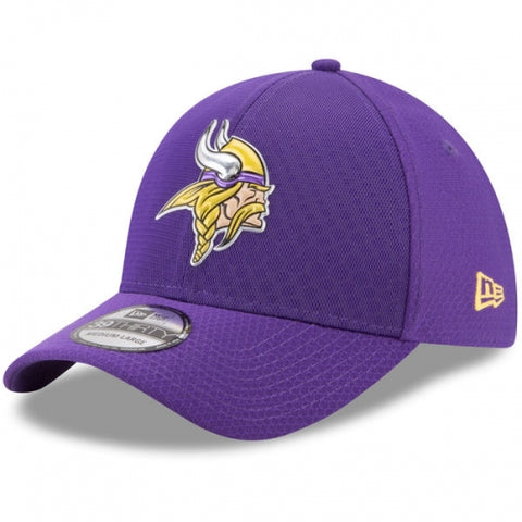 Minnesota Vikings New Era 2017 Color Rush 39THIRTY Flex Hat Purple