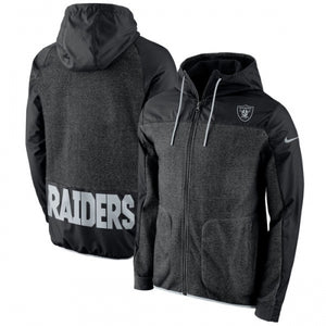 Oakland Raiders Nike AV15 Winterized Full-Zip Jacket - Black
