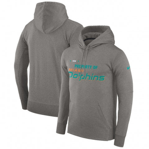 Miami Dolphins Property Of Mens Hoodie