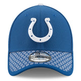 Men's Indianapolis Colts New Era Royal 2017 Sideline Official 39THIRTY Flex Hat
