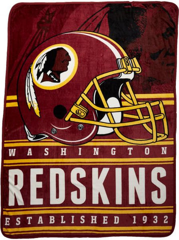 Washington Redskins Fleece Throw