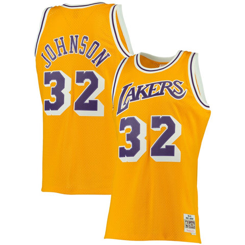 Los Angeles Lakers Mitchell & Ness Swingman Jersey