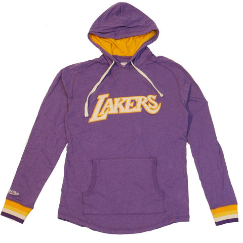 Los Angeles Lakers Mitchell & Ness Lightweight Hoodie