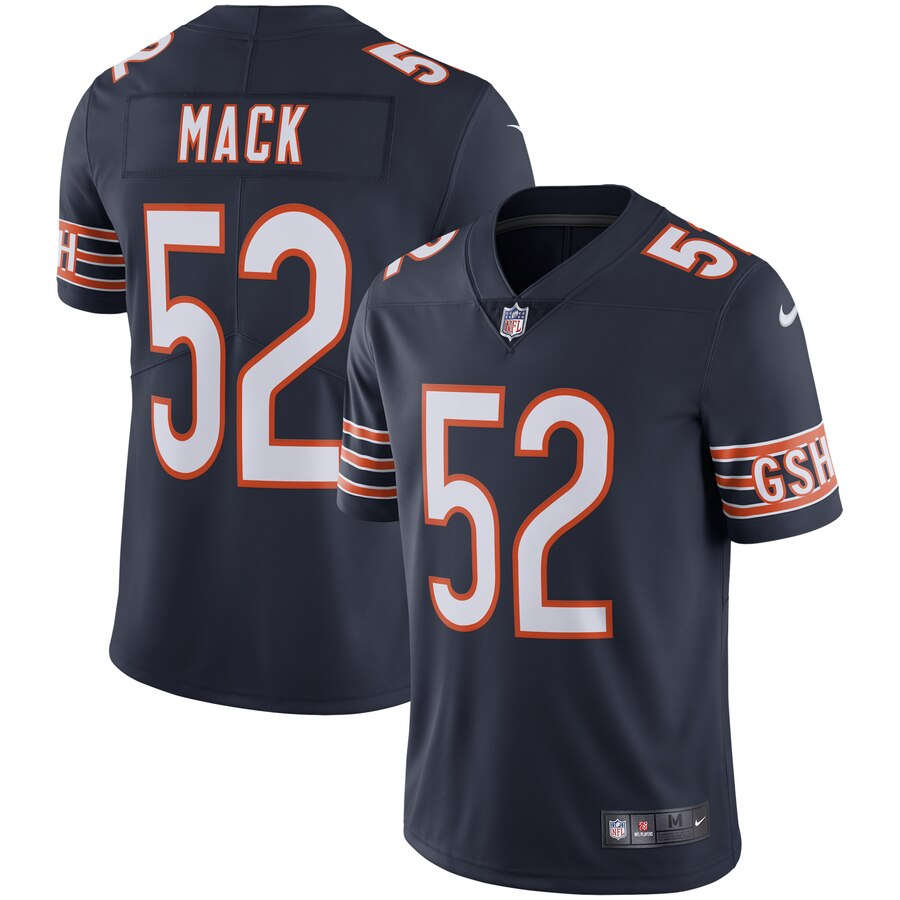 Khalil Mack Chicago Bears Nike Vapor Limited Jersey - Navy
